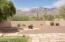 Spacious backyard facing north with beautiful Catalina mountain views