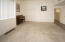 Large family/rec room/office is great for entertaining. Has 2 large closets
