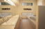 Large master bathroom with jet tub and walk-in shower