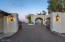 These gates access garages, kitchen entry and guest quarters.