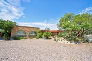 5733 N Camino Miraval - Set Back from Road on 1.21 Ac