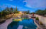 this pool is a great size for entertaining or quiet relaxation alike