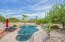 stellar pebbletech pool with diving end