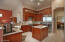 Completely updated kitchen with Sub-Zero refrigerator and Wolf appliances. Check out the large island for meal preps.