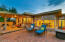 A beautiful space to entertain or peacefully enjoy the views of the Santa Catalina mountains.