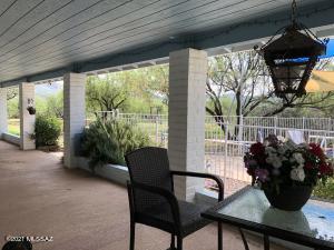 Inviting Back Porch