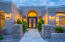 Stunning front entrance