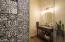 Tile surrounds w/frameless glass door