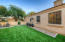 Side Yard with Artificial Turf - Super Easy to Maintain Yard