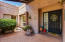 Lovely courtyard entry