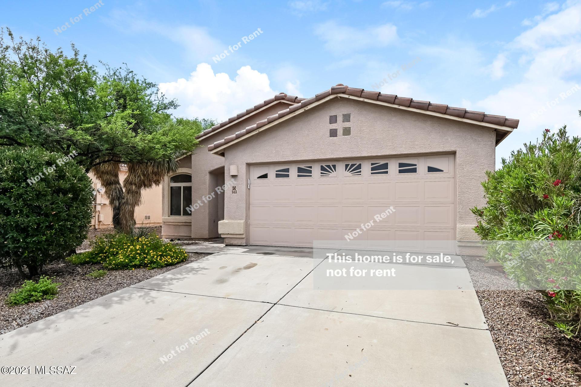 543 W Tara Danette Drive, Tucson, AZ 85704
