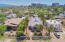 Elevated view of this one of a kind property. Notice University of Arizona only 6+/- blocks away.