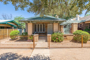 Sterling 1921 California Bungalow built by legendary Tucson architect Roy Place.