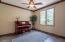 Main floor guest bedroom/music room