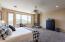 Owner's suite with door to balcony