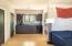 Lovely kitchenette w/ridge & microwave & concrete flooring