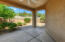 Deep Covered patio with ultimate privacy