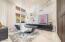 Custom Dual sided Desk, Eggersman Floating Cabinents & Shelves- create wonderful work space!
