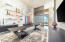 Exquisite Office- highlighted by 15 ft of Magnicifica Wall Tile