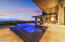 """Striking Negative Edge """"Solar Heated"""" Pool with dramatic black spill over"""
