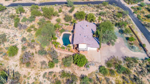 3.46 acre lot. Perfect for privacy and horses.