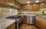 stainless steel appliances AND gas range