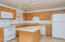 Great kitchen with can lighting