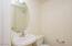 1/2 bath/powder room