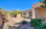 View to the North with Catalina Mountain Views & large pavered / extended patio