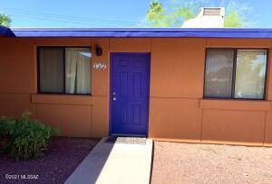 Front Door of UNIT 162 at Sunset Foothills Condominiums