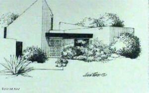 Original rendering front exterior
