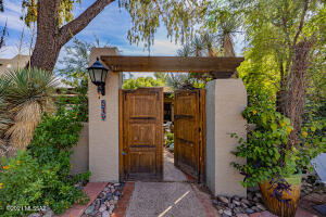 Inviting Entry & Spectacular Courtyard
