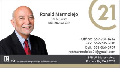 Ronald P Marmolejo agent image