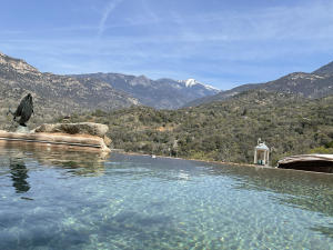 Infinity Pool leads to Sierras and Million $$ VIEWS!
