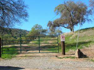 Entrance to the property