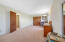 Giant upstairs guest bedroom