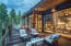 Enjoy entertaining on this large outdoor deck with fire pit