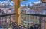 Balcony, Residence 509, Fairmont Heritage Place Franz Klammer Lodge, Telluride Colorado.