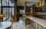 Kitchen and atrium