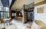Atrium looking into kitchen