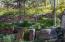 Irrigated rock garden