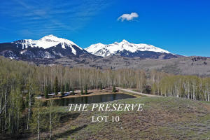 Lot 10 The Preserve, Telluride, CO 81435