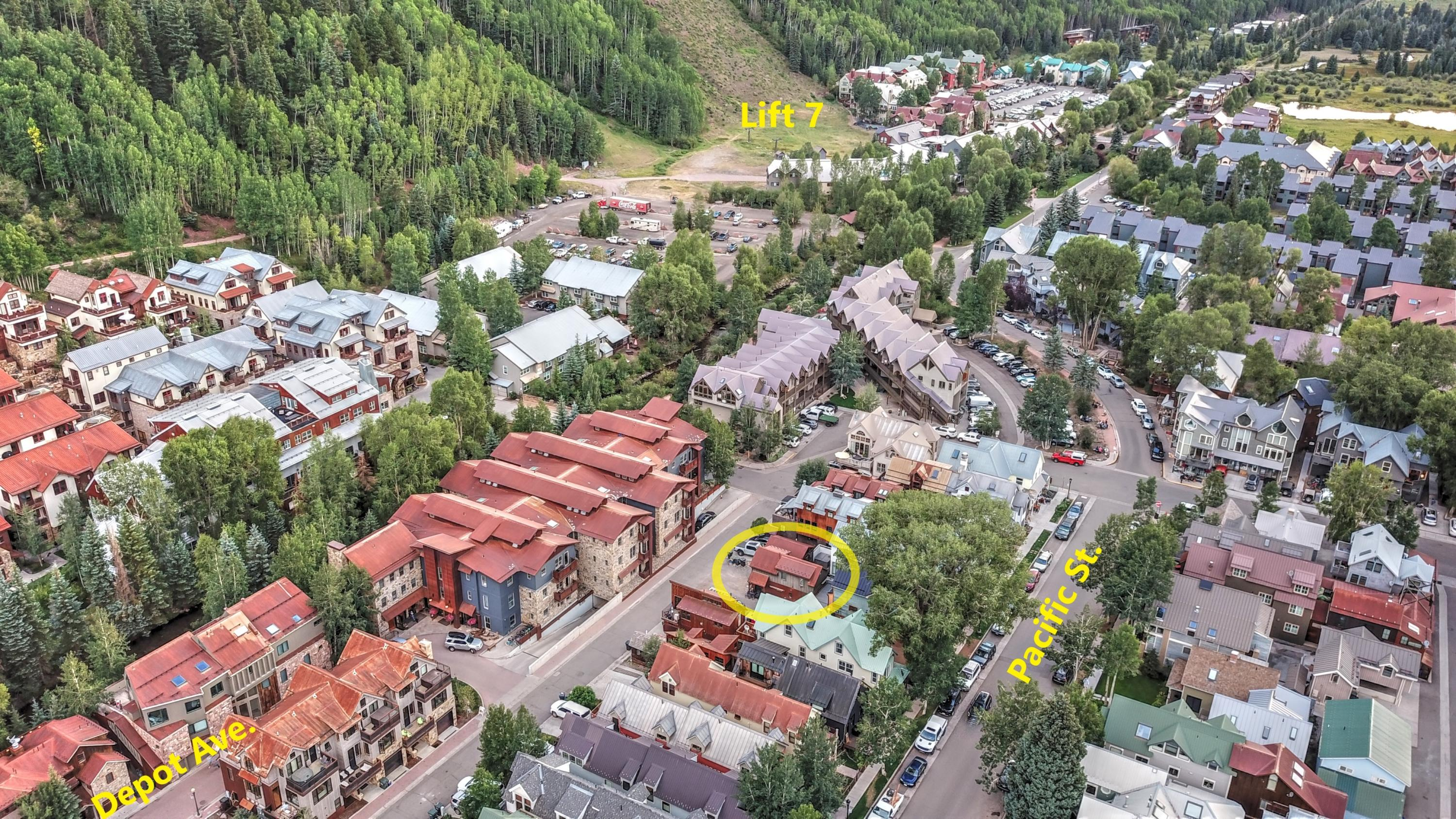 Property for sale at 548 W Pacific Avenue Unit: B, Telluride,  Colorado 81435