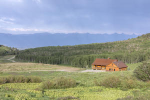 Wonderful setting on 50 acres with Cimarron views at Spruce Mountain Ranch