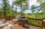 Kick back and relax on your private deck! This hangout spot has great views and privacy.