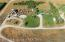 Aerial photo of the ranch.