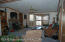 Owner/Manager Home Living Area. Great Wood Stove.
