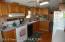 Beautiful - Well Kept Kitchen. Appliances Stay.