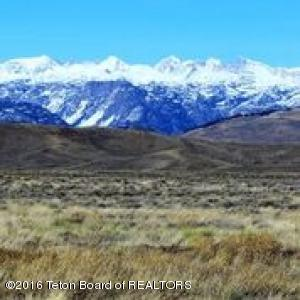 Full On Wind River Mountain Range View