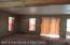 Living Area - Main Floor - Notice the Log Beams